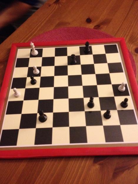 Sjakkparti 2013..Jonas ble knust etter elendig utnyttelse av Spansk åpning