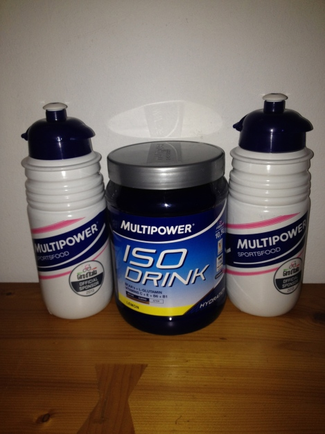 Multipower ISO energy drink med vintage vita miner