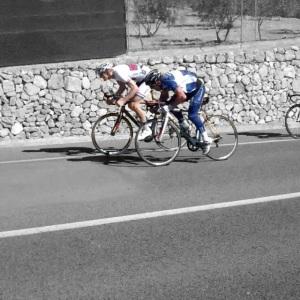 Jeg har også vært på sykkeltur med ryttere fra KCK, de inviterte til treningsritt. Hvordan gikk det ? vel la meg si det slik: Veni, vidi, vici