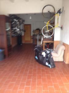 Her er det plass til ca veldig mange sykler...