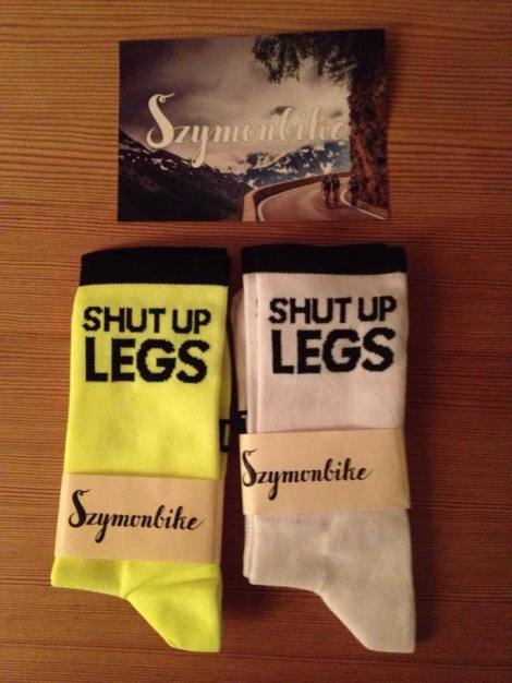 Et par Shut Up Legs sokker fra SZYMON BIKE