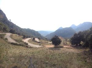 Her er utsikten fra Coll de Soller som jeg slet meg opp i dag...egentlig verdt det når man ser utsikten