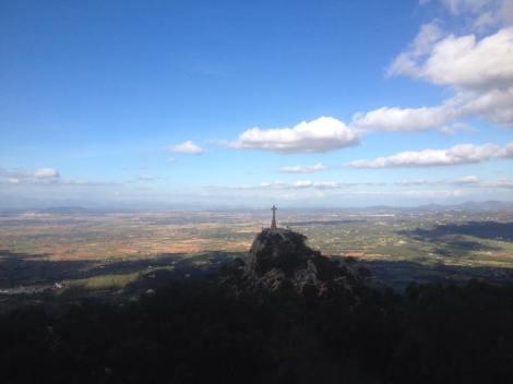Her er bilde tatt fra San Salvador på en økt tidligere i uken. Fantastisk utsikt.