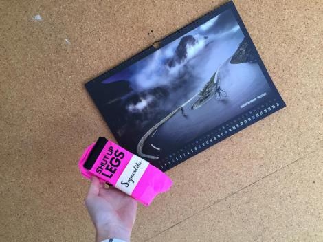 Har også fått årets kalender av Szymon + sokker, dette setter jeg pris på.