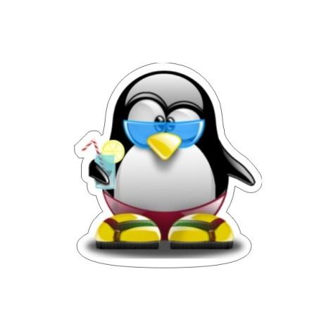 beach-tux-linux-penguin