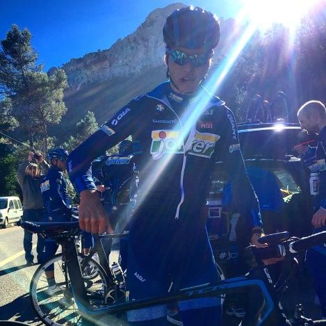 Super Odd, alltid hyggelig å møte han på sykkelsetet, koselig å møte en man har delt veldig mange timer på sykkelen sammen med. Han blir sterk i år:)