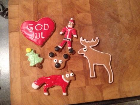 Jeg har også gjort unna litt julebakst