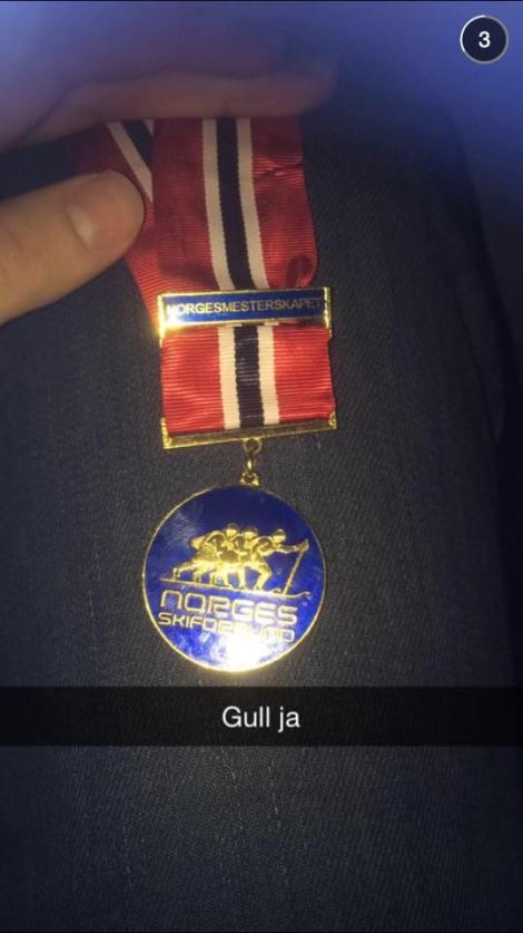 Når du vinner en gullmedalje vinner du også ukens SnapChat, i hvertfall hos meg. Så gratulerer til Even Northug med fantastisk skigåing, blir nok flere slike i fremtiden fra denne karen....