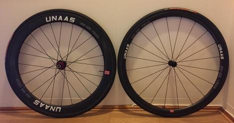 Unaas leverer i år som i fjor kvalitetshjul med lav vekt.
