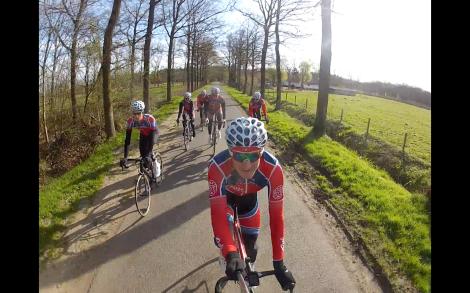 Dette ble feiret med en aldri så liten sykkeltur. Som dere ser er vi veldig dårlig på rulle enn så lenge...