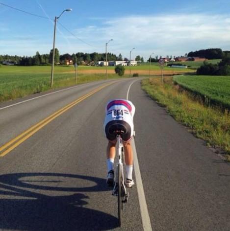 Med utrolig høyt nivå på eliten i sykkelnorge om dagen blir det utrolig hardt å hevde seg i toppen i den