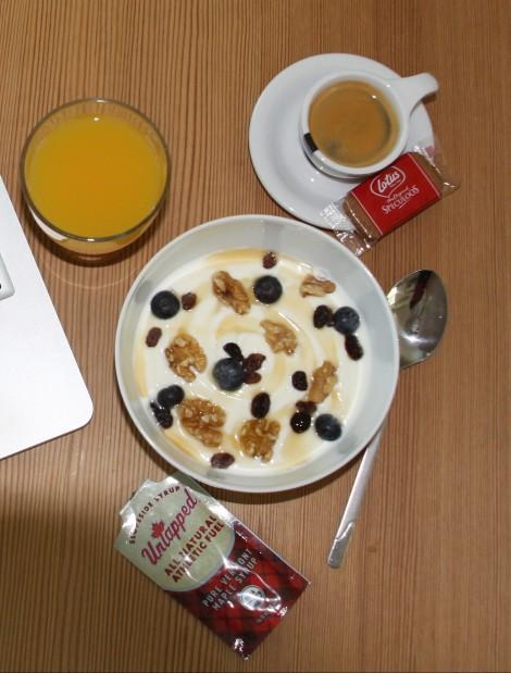Slik ser en god, energifylt frokost ut om dagen!