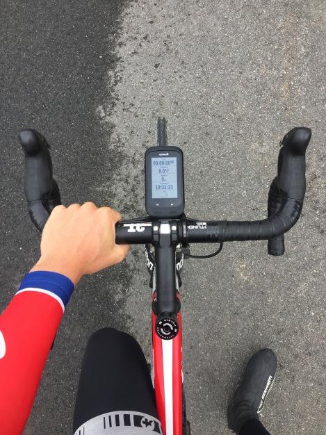På planen denne dagen sto 155km hard kjør, altså god gammeldags dunking...Jeg er jo en rytter som trives i brudd så dette er god trening.