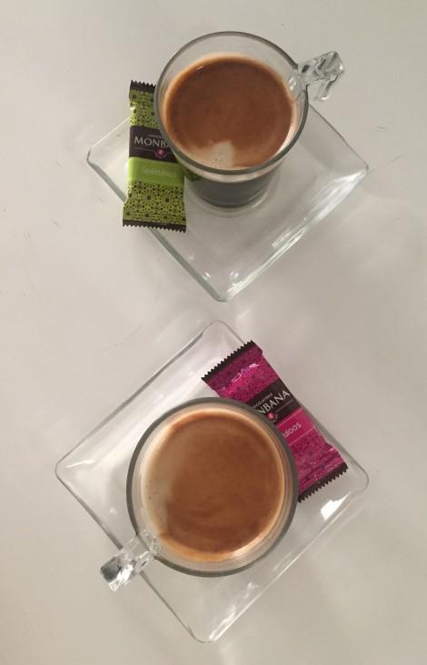 4: Sist men ikke minst post-ride coffee på den lokale kafè´en! Der de nå faktisk bare komemr med kaffe uten at vi har bestilt:)