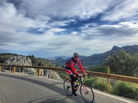 Dag 5 opp i fjellene igjen, bedre med bakker enn motvind <3 Strava link
