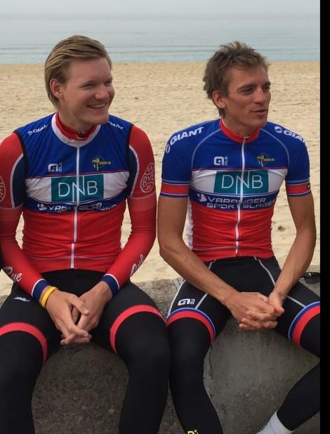 Sykkelnorges dream team, denne duoen vil lage mye show i 2016:) Vi lover å oppføre oss litt, men bare litt:)